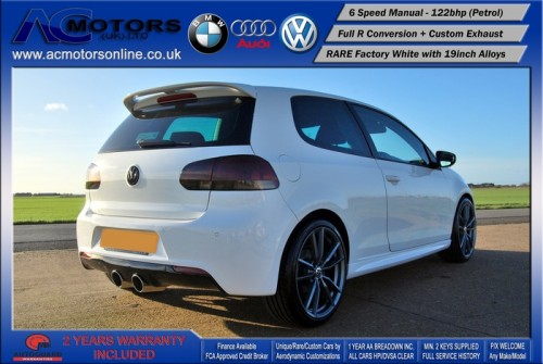 VW Golf R20 Replica 1.4 TSI SE (2009) - 122bhp - (Image 5)