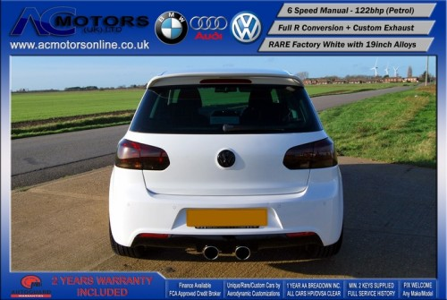 VW Golf R20 Replica 1.4 TSI SE (2009) - 122bhp - (Image 6)