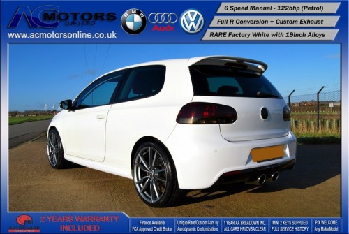 VW Golf R20 Replica 1.4 TSI SE (2009) - 122bhp - (Image 7)