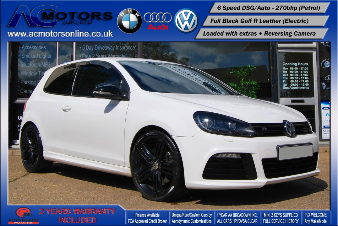 VW Golf R 2.0 TSI DSG 4-MOTION (2010) - 270bhp